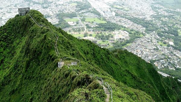 Haiku, Escadaria de Oahu, Hawaii