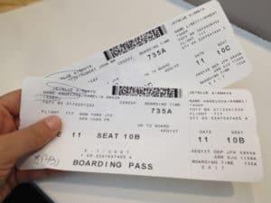comprando passagens para os Estados Unidos