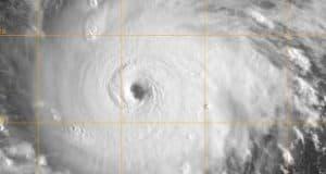 Furacão Irma - Imagens de satélite