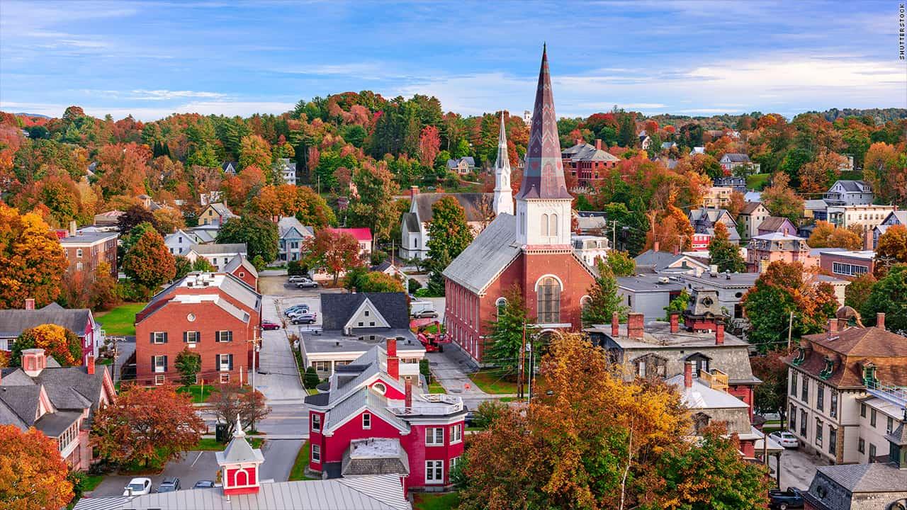 Morar em Vermont