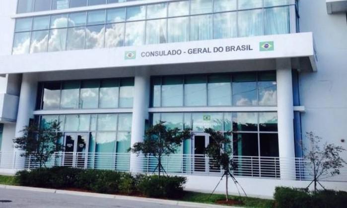 Consulado brasileiro na Flórida