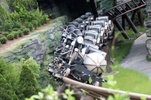 Hagrid's Magical a montanha russa do Parque Universal