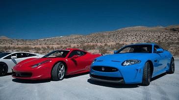 Ferrari em Las Vegas