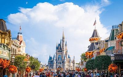 Retomada da Disney World na Flórida