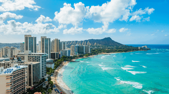 Onde fica Honolulu