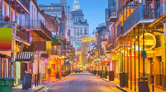 Onde fica Nova Orleans