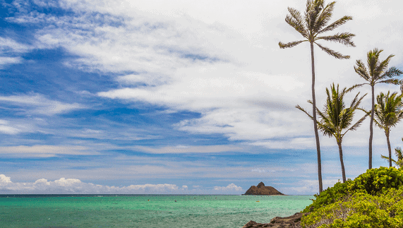 Onde fica Oahu