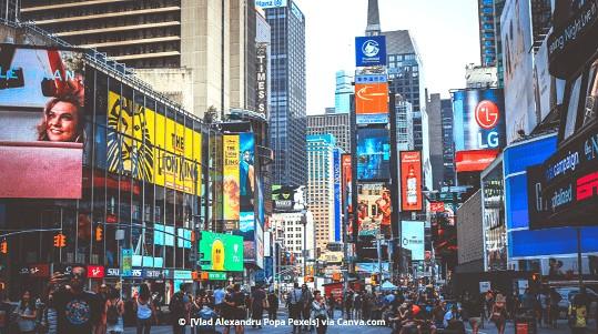 O que tem na Broadway